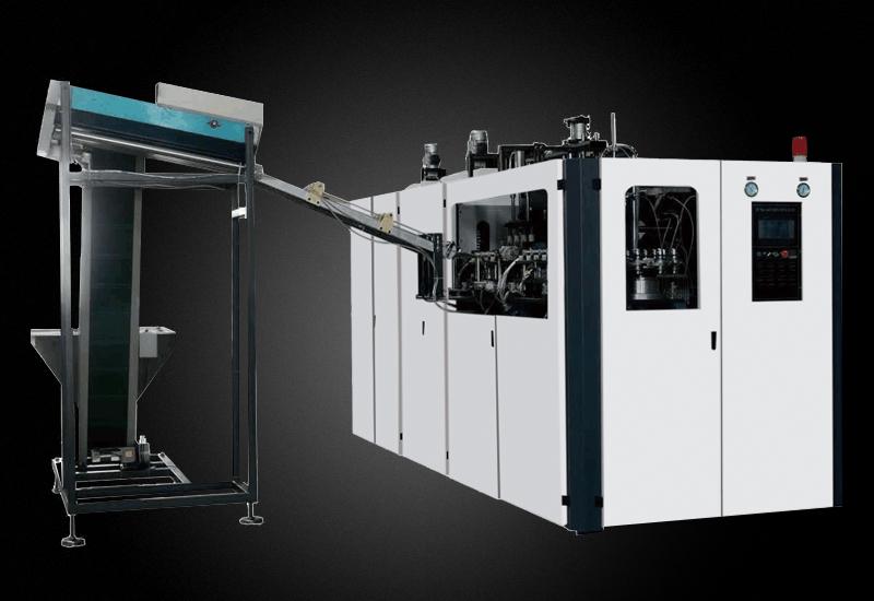 全自动一出六加长版全伺服YM-BL600-6-S   吹制你各种PET 材料的塑料容器
