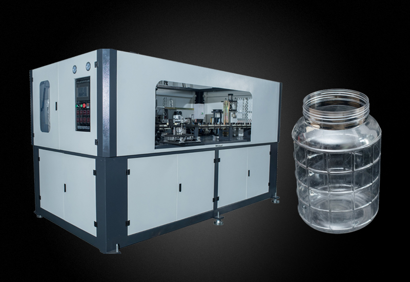 大广口水瓶油瓶手插瓶坯自动吹瓶机YM-A12L
