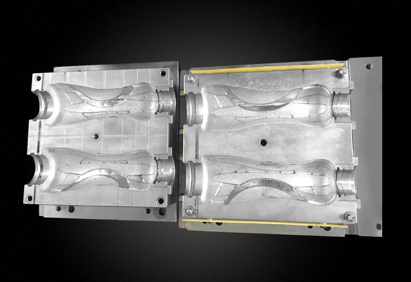 2腔太空杯吹瓶模具 瓶坯吹塑模具