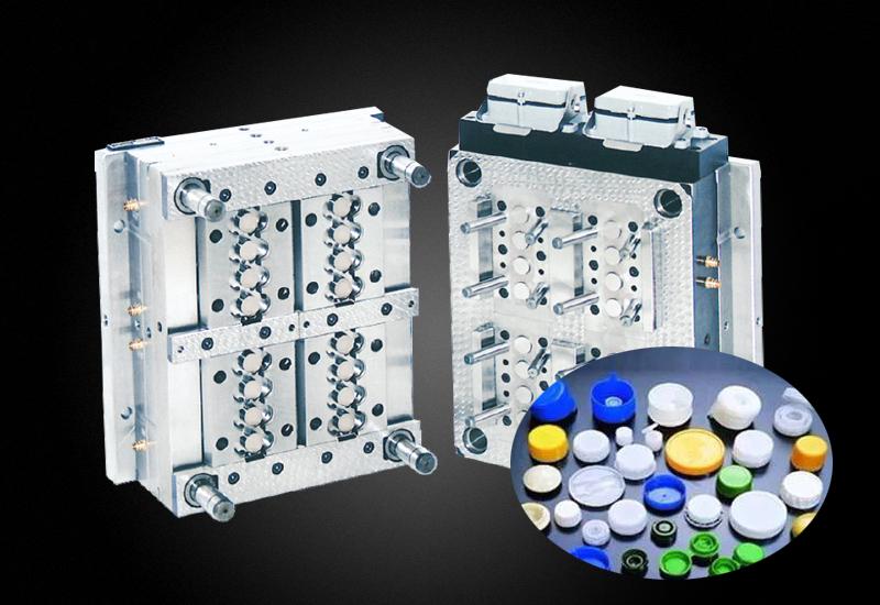 热流道系统PP塑料盖模具