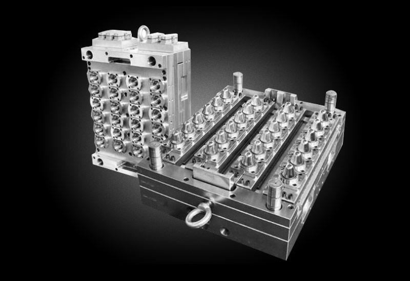 优质模具厂家 12腔PET瓶坯模具