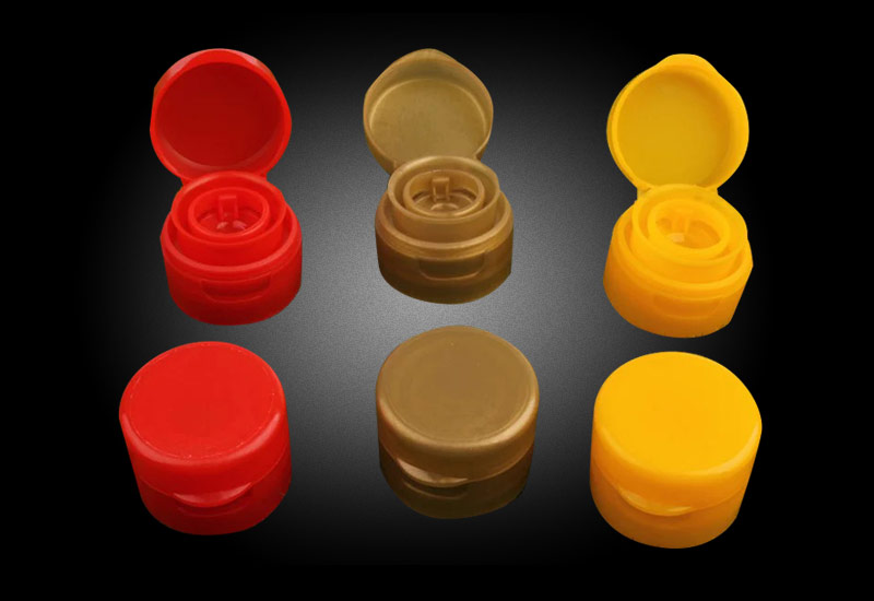 香油瓶 醋酱油瓶盖 食用油圆形PET塑料瓶盖 翻盖瓶盖